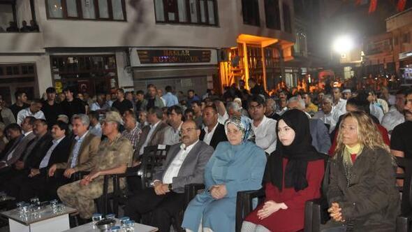 Van, Bitlis ve Hakkaride 15 Temmuz şehitleri için anma programları düzenlendi