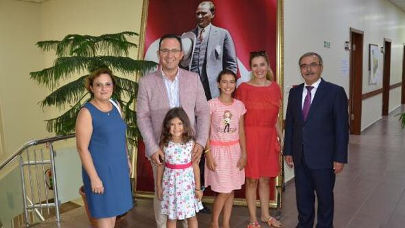 Selanik Başkonsolosu Okan, Gelibolu Belediyesi'ni ziyaret etti