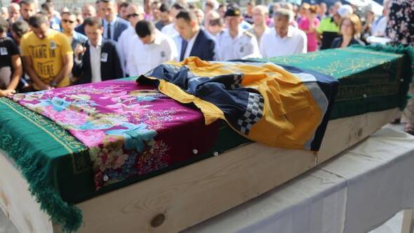 Kazada ölen 112 çalışanı Tuğba'ya hüzünlü tören