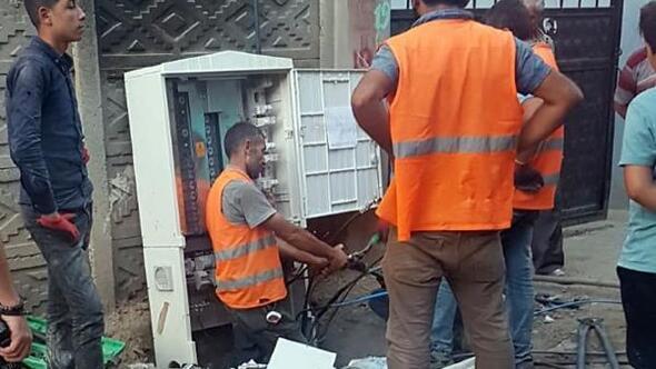 Dicle Elektrik Şırnak'ta pano montajına yeniden başladı