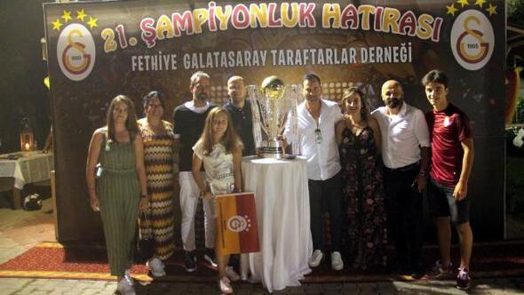 Galatasaraylılar Fethiyede coştu
