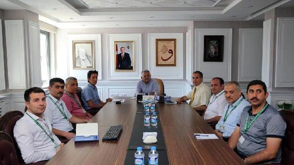 Melikgazi Belediyesinde Plan ve Proje Müdürlüğü toplantısı