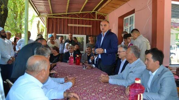 Cumhurbaşkanı Erdoğan istedi, Kültür Bakanı Ersoy hayalet köy Lübbeye geldi