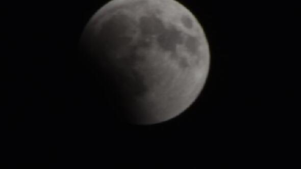 Malatyada Kanlı Ay Tutulması kısmen izlenebildi