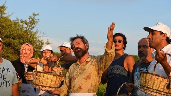 Feridun Düzağaç, Bozcaadanın çavuş üzümünü tanıttı