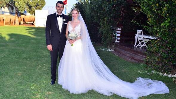 Voleybolcuları buluşturan düğün