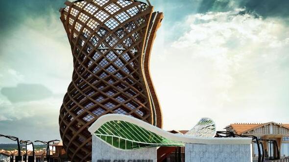 Rizeye dev bardak heykelli Çay Çarşısı kuruluyor