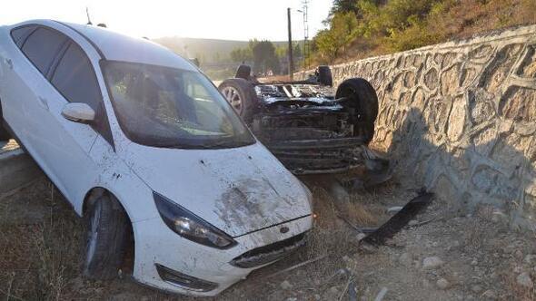 Darendede kaza: 4 yaralı