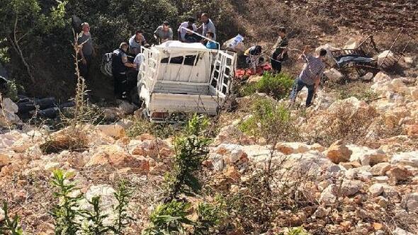 Hatayda trafik kazası; 2 ölü, 2 yaralı