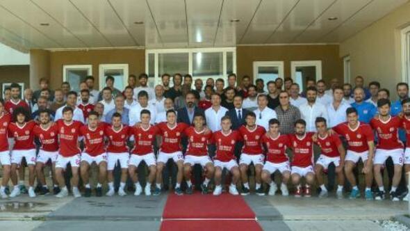 Demir Grup Sivasspor bayramlaştı