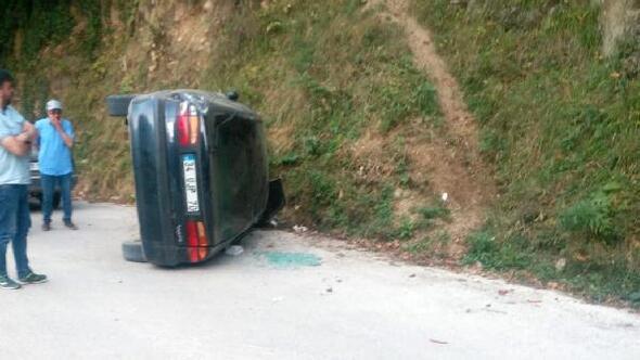 Gümüşhanede yayla dönüşü kaza: 7 yaralı