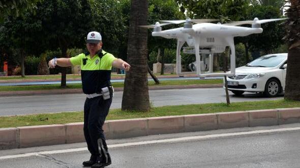 Adana'da dronelu trafik uygulaması ile ilgili görsel sonucu