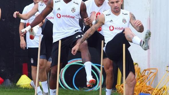 Beşiktaşta Ljajic ilk antrenmanına çıktı