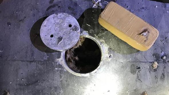 TIRın yakıt deposundan 140 kilo eroin çıktı