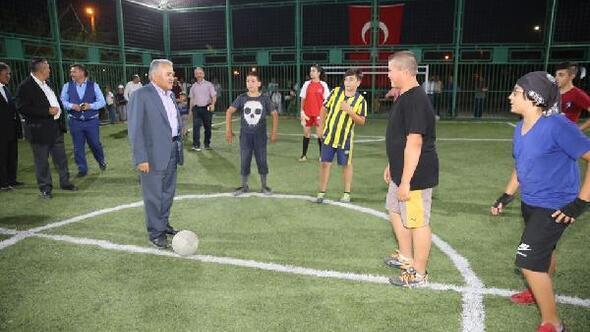 Başkan Büyükkılıç, dostluk ve kardeşlik turnuvasına katıldı