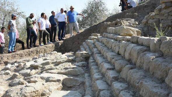 Maydos Kilisetepe Höyüğünde 4 bin yıllık savunma duvarı kalıntıları