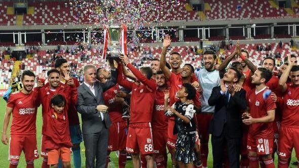 Sivas Cumhuriyet Kupası 9uncu kez DG Sivassporun