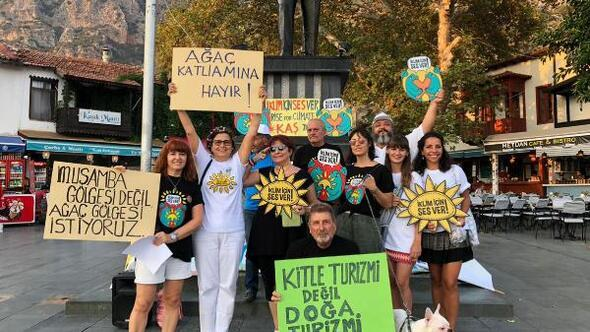 Antalyada İklim İçin Ses Ver etkinliği