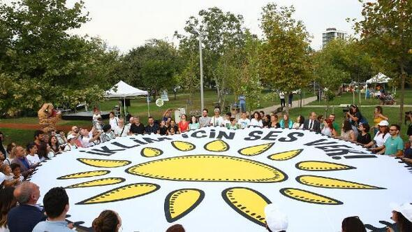 Kadıköy İklim Elçileri Kalamış Parkı'nda toplandı