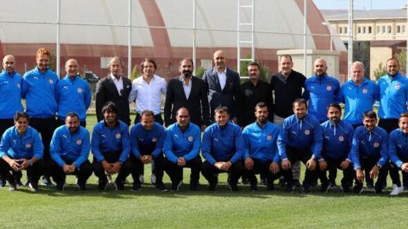 Kafkas, DG Sivassporun altyapı tesislerini inceledi