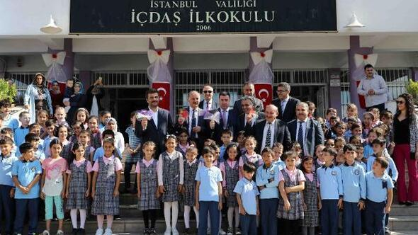 Bağcılar'da 153 bin 515 öğrenci ders başı yaptı