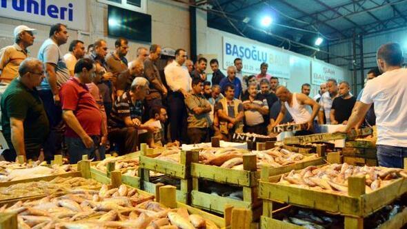 Antalyada balık sezonu açıldı