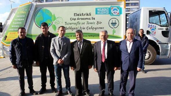 Melikgazi Belediyesi, çöpleri elektrikli araçlar ile toplayacak