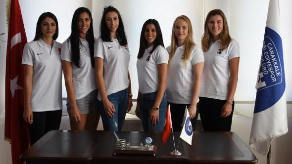 Çanakkale Belediyespor'dan 6 transfer