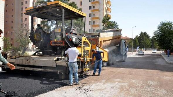 Melikgazi Belediyesinden 13 bin ton asfalt