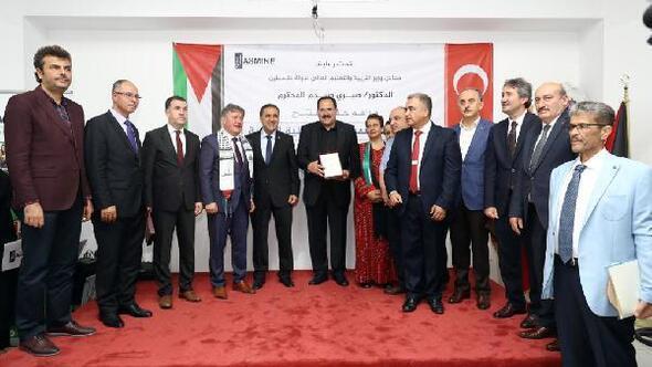 Filistin müfredatının uygulanacağı Özel Milletlerarası Okulu açıldı