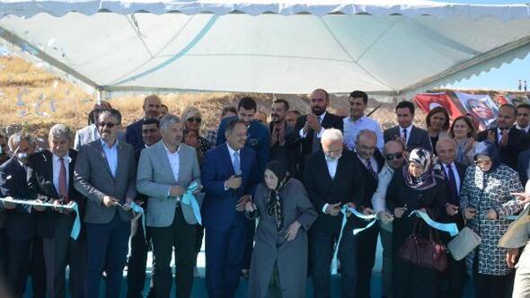 Bünyanda çocuk parkı ve spor kompleksi törenle açıldı