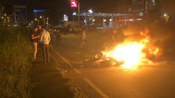 Hopada işlenen taksici cinayeti için protesto yürüyüşü
