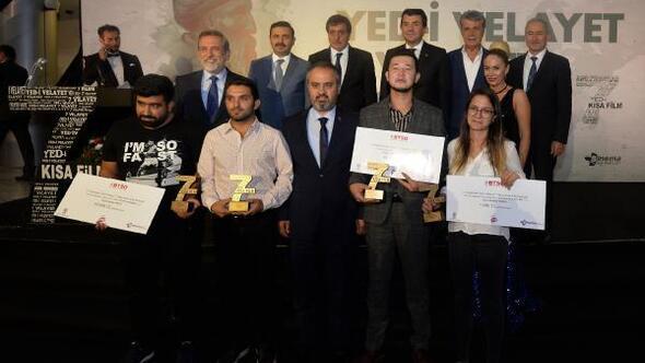 Yed-i Velayet 7 Vilayet Kısa Film Festivalinde ödüller sahiplerini buldu
