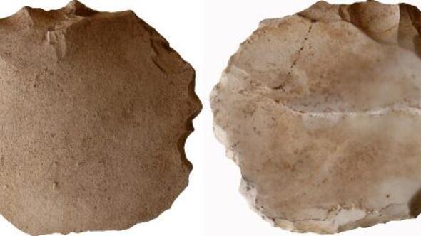 Eskişehirde 200 bin yıl öncesine ait taş alet bulundu