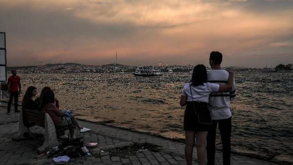 Fotoğraflar// İstanbulda güneşli hava