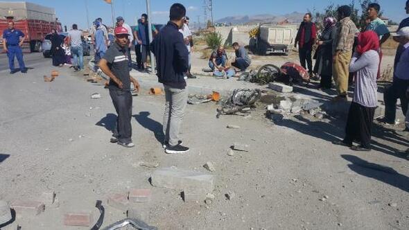 Konyada zincirleme kaza: 3 yaralı