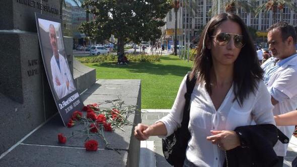 İstanbulda doktora silahlı saldırıya İzmirdeki meslektaşlarından tepki