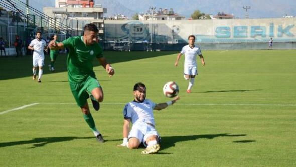 Serik Belediyespor - Anadolu Bağcılar Spor: 2-1