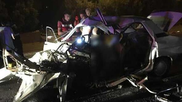 Mersinde kaza: 2 kişi ile annesinin karnındaki bebek öldü