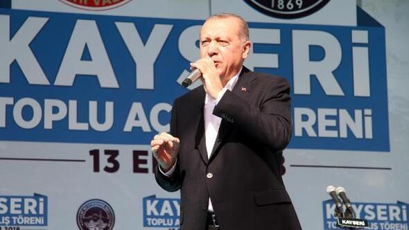 Cumhurbaşkanı Erdoğan: Kılıçdaroğlu, sen ölüleri rehin alıyordun
