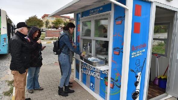 Çanakkale Belediyesinden, üniversite öğrencilerine çorba ikramı