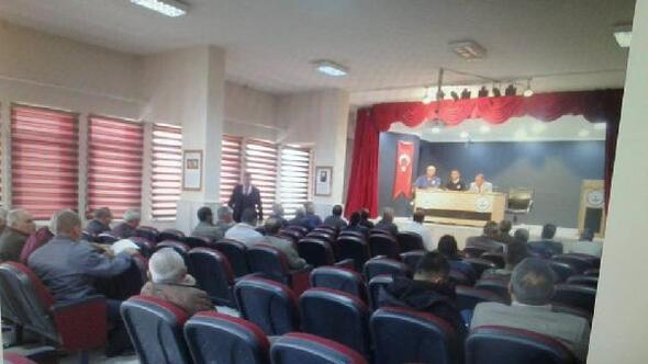 Tomarzada taşımalı eğitim toplantısı