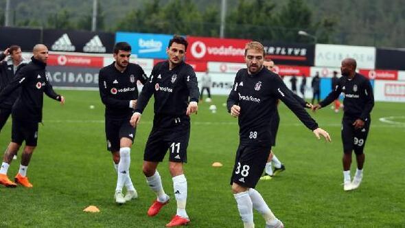 Beşiktaşta Göztepe maçı hazırlıkları devam ediyor