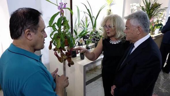 Marmariste Orkide Günleri sergisi açıldı