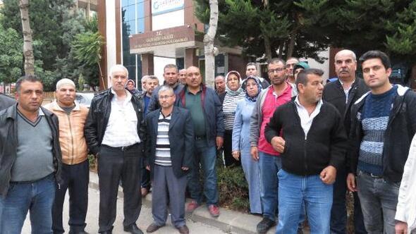 Çadır kent çalışanlarından atama tepkisi