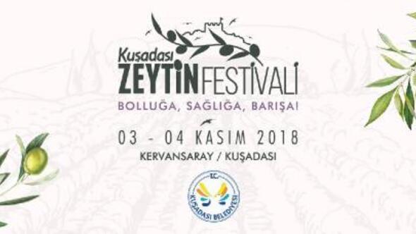 Kuşadası Zeytin Festivaline hazır