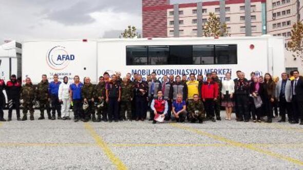 Afyonkarahisarda 200 kişilik KBRN tatbikatı