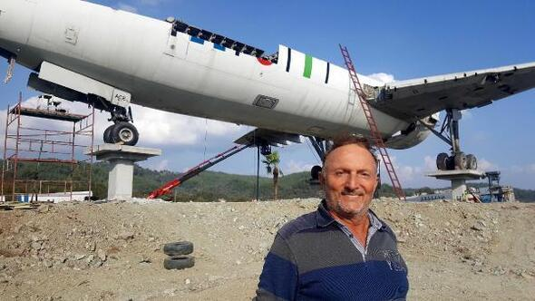 Hurda uçak restoran- kafeterya olarak hizmet verecek