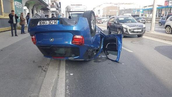 Avcılarda trafik kazası