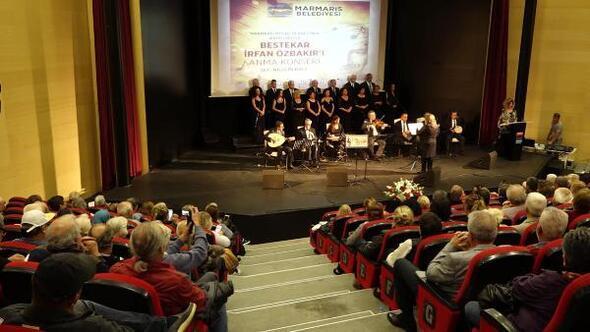 Ünlü bestekar Özbakır, Marmariste konserle anıldı